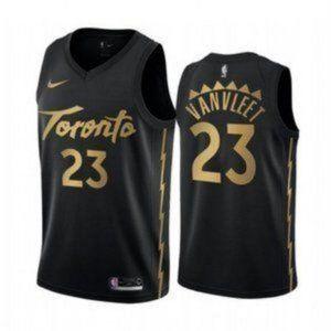 Mens Toronto Raptors Fred VanVleet City Jersey